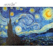 <b>Michelangelo Wooden Jigsaw Puzzles</b> Old Master The Starry Night ...