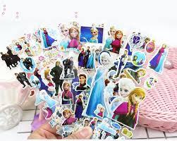 New <b>12 Sheets</b>/<b>lot</b> 3D Puffy Bubble Stickers Cartoon Frozen Stickers ...