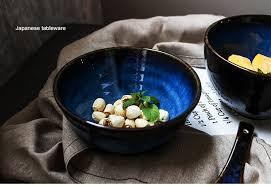 <b>NIMITIME Ceramic</b> Porcelain Retro Salad Soup Fruit Bowl Rice ...
