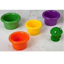Игровой набор для <b>купания Bondibon</b> Пирамидка с лягушкой, арт ...