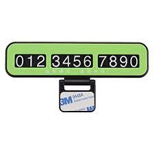 Pagacat Multifunctional Anti-Slip <b>Car Temporary Parking Card</b> Plate ...