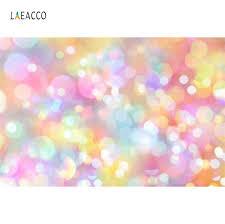 Dreamy Colorful <b>Polka</b> Dots Light Bokeh Birthday Party Love Baby ...
