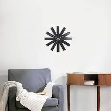 <b>Часы настенные Ribbon чёрныe</b> 118070-040 - купить в интернет ...