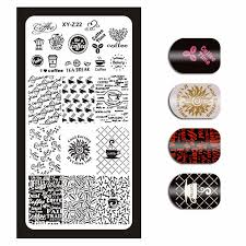 Detail Feedback Questions about <b>6*12cm Nail Stamp</b> Teamplate ...