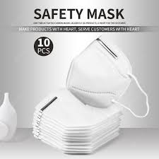 <b>10 pcs N95 KN95</b> Face <b>mask</b> CE <b>FDA</b> Certified Dustproof and Anti ...
