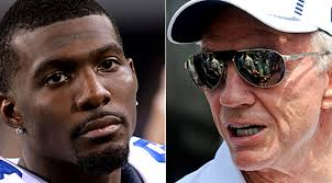 Image result for images of dez bryant and jerry jones