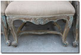 french painted bulap dining chairs rachel ashwell white decorating shabby chic decorating chic shabby french style distressed white