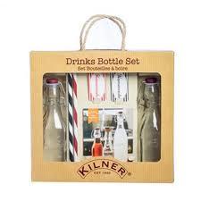 Подарочный <b>набор из 2 бутылок</b> и трубочек, Kilner