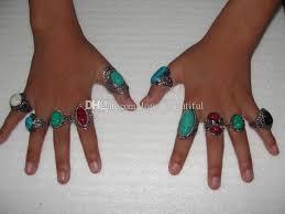 2015 <b>Hot</b> Sale <b>Vintage</b> Gemstone Rings Elegant <b>Tibetan</b> Rings ...