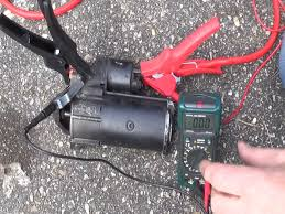 How to test your starter motor & solenoid - Starter troubleshooting ...