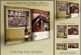 Print Ad Templates v3 Full & Half Page Designs ‹ PsdBucket.com