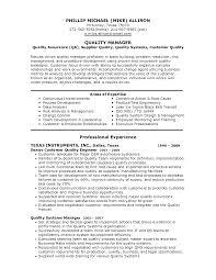 Qa Resume Sample   Resume Format Download Pdf