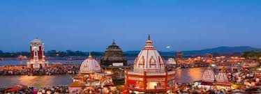 Image result for har ki pauri at sunrise large