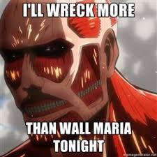 Colossal Titan V Day | Meme Generator via Relatably.com