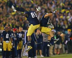 notre dame is after an all time crazy saturday sports on earth