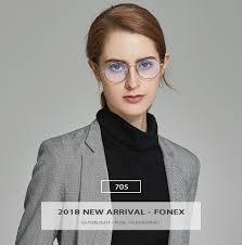 <b>Pure Titanium Glasses</b> Frame Men Round Prescription <b>Eyeglasses</b> ...