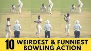 10 Weirdest Bowling Actions in Cricket (<b>360 Degree</b> bowling ...