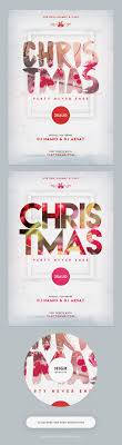 best images about afiches poster dj party psd christmas party flyer