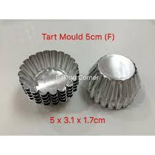 TART MOULD <b>5CM</b> (FLAT) <b>10pcs</b> | Shopee Malaysia
