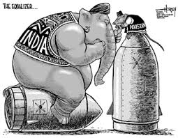 Image result for India Want Nuclear CARTOON