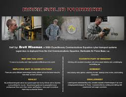 rock solid warrior staff sgt brett wiseman > barksdale air force rock solid warrior staff sgt brett wiseman