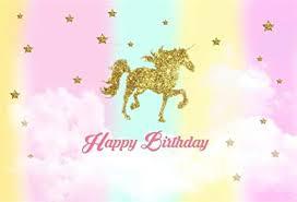 Laeacco 5x3ft Unicorn Baby Shower Party ... - Amazon.com