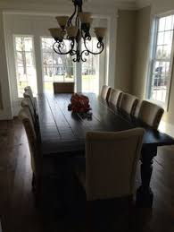 dining table that seats 10:  seater dining tablequot oak planked toptriple infinite optn ebay table pinterest stains chairs and gray