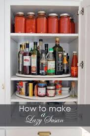 upper kitchen cabinets pbjstories screenbshotb: your upper cabinets face it if youre on the shorter side the top shelves in your cabinets usually end up totally unused but a lazy susan lets you can