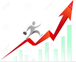 1 107 salary raise cliparts stock vector and royalty salary salary raise man climbing the stairs made of raising graph