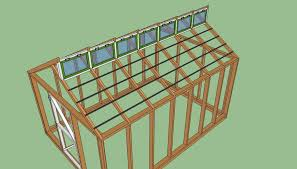 Free greenhouse plans   HowToSpecialist   How to Build  Step by    Wood greenhouse plans
