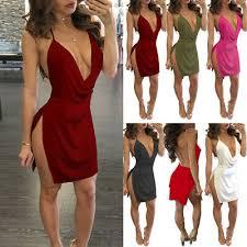 <b>2019 Women Sexy Sleeveless</b> Backless Dresses Evening Party ...