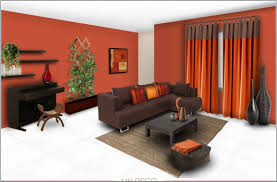 wall color scheme living room orange wall paint color schemes living room with grey