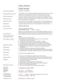 registered nurse cv nurse resume template professional summary    registered nurse cv nurse resume template professional summary