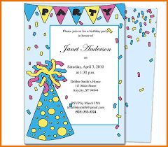 8 Kids Birthday Invitation Templates Word | Flyer Templates Pdf Invitation Templates / Kids Birthday Invitations / Party Hat Kids