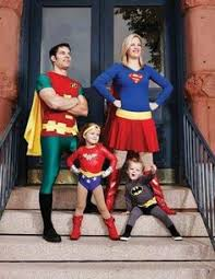 <b>Superman</b> and Supergirl <b>Mommy and Me</b> Costumes - Party City ...