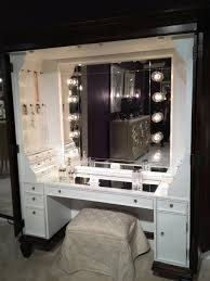 charming makeup table with mirror and lights design white wooden make up table with square charming makeup table mirror