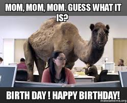 Happy Birthday Meme For Mom - funny happy birthday meme for mom ... via Relatably.com