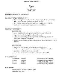 how to do a resume 2 do a resume