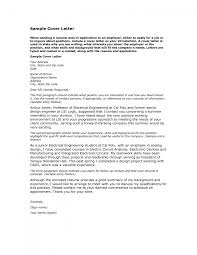 electronic cover letter format template electronic cover letter format