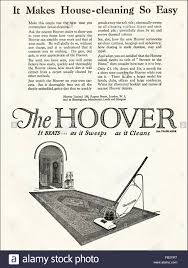 original vintage advert from 1920s advertisement from 1923 stock original vintage advert from 1920s advertisement from 1923 advertising the hoover upright vacuum cleaner