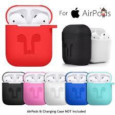 Для AirPods <b>силиконовый чехол</b> защитный кожи для Apple Airpod ...
