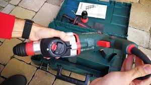 Unpacking / unboxing combination hammer <b>Metabo KHE 2660</b> ...