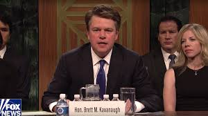 Matt Damon's Brett Kavanaugh cameo on SNL came together in just ...