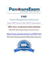 pass4sure pmp exam question by sam leo issuu