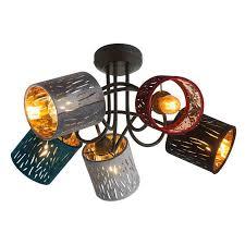 <b>Потолочный</b> светильник <b>Globo 15266</b>-<b>5D</b> , E14, 25 Вт — купить в ...