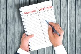 assess your strengths and weaknesses in facilities management categorising strengths and weaknesses for recruitment