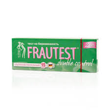 <b>Frautest</b> Double Control <b>тест на беременность</b> 2 шт купить по ...