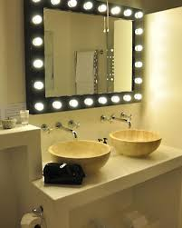 lighted mirror bathroom mirror and lighting ideas