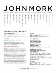 Examples of Impressive Resume CV  Designs   DzineBlog com resume design ideas