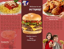 Fast Food Flyer Template Sample Fast Food Flyer Template